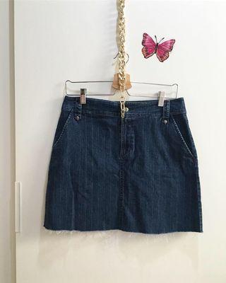 Denim Skirt size L stretch