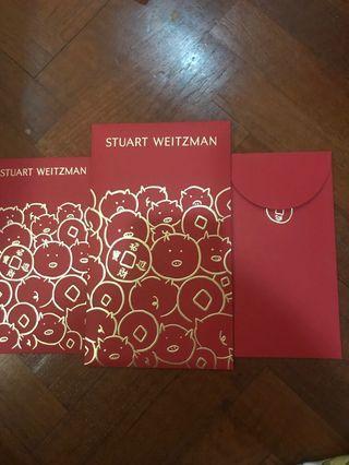 Stuart Weitzman red pkt 2019