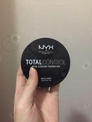 Nyx total control mesh cushion foundation shade shell