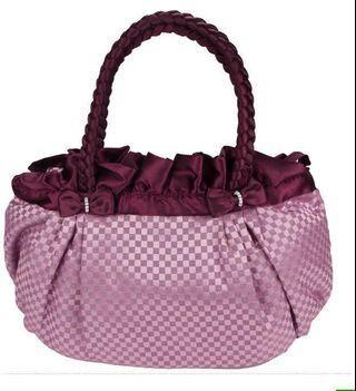 紫色小方格曼谷包(原630)
