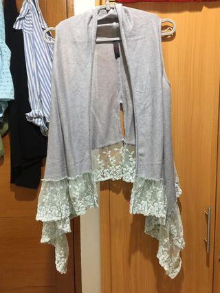 Lace korean outer