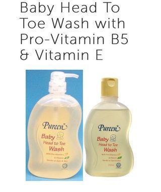 🚚 Baby Head To Toe Wash with Pro-Vitamin B5 & Vitamin E