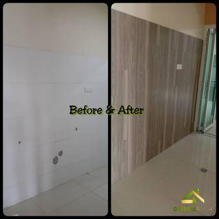 Wall Vinyl Installation