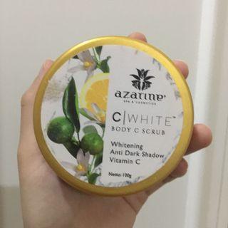 Azarine C White Body Scrub