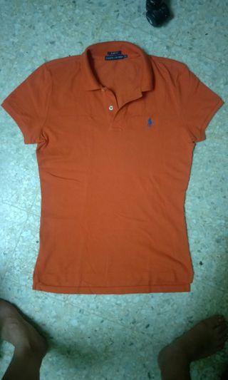 Ralph Lauren Polo T-shirt in orange color