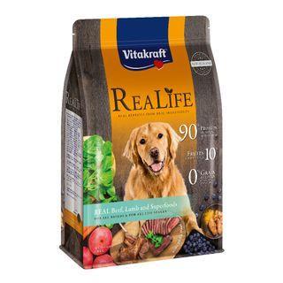 Vitakraft ReaLife Real Beef, Lamb & Superfoods Dog
