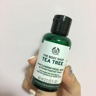 (降)The Body Shop茶樹淨膚深層潔面膠-60ML