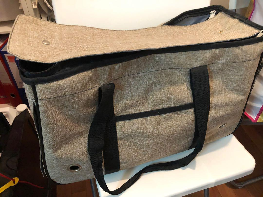 寵物袋🐾8成新🐾多格位放配件🐾