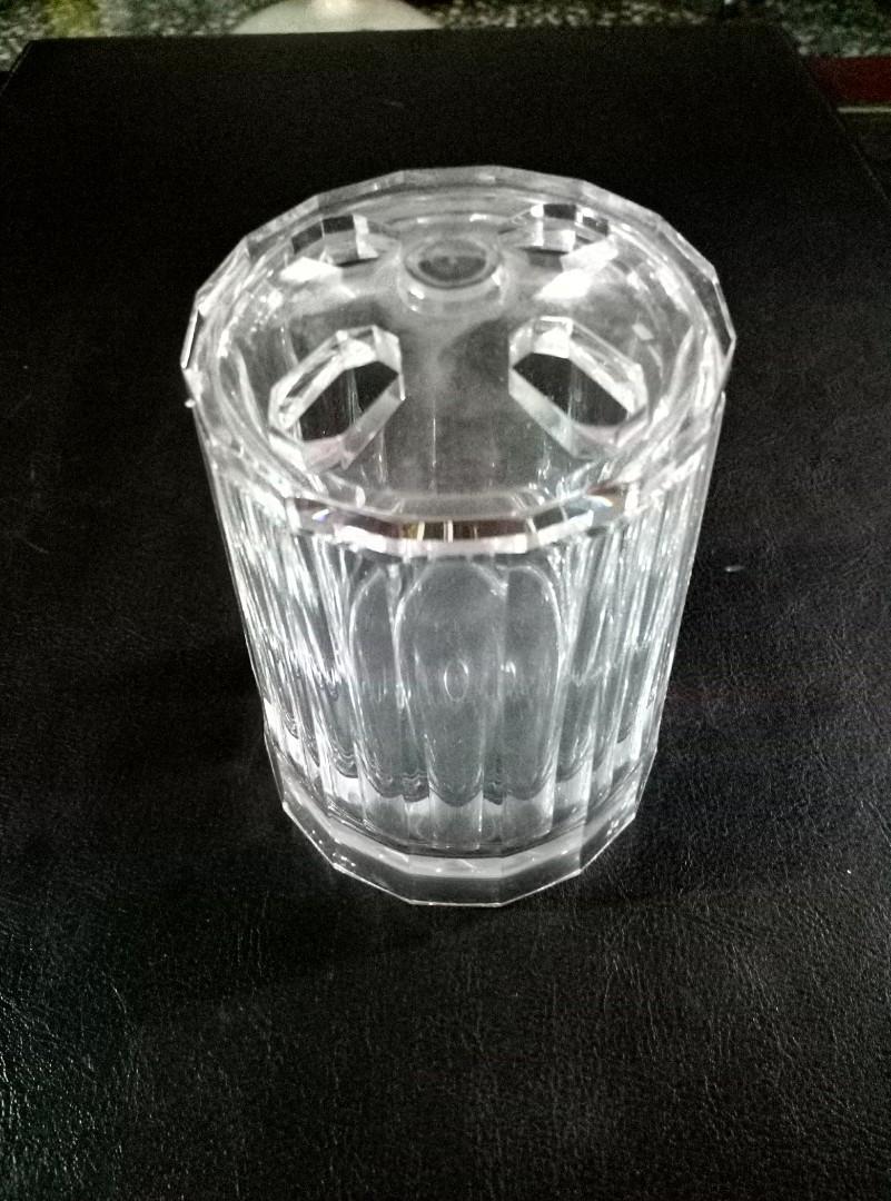 透明壓克力牙刷漱口杯