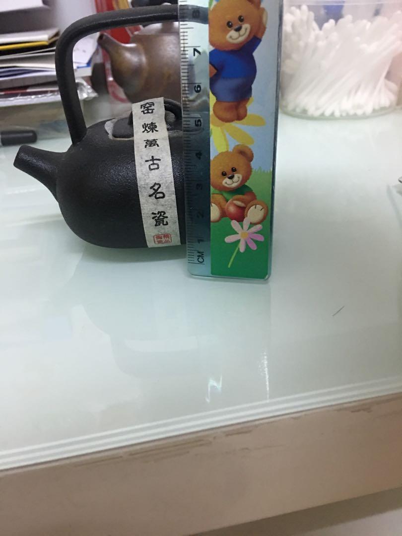 粗陶提梁壶中式复古茶壶功夫茶具