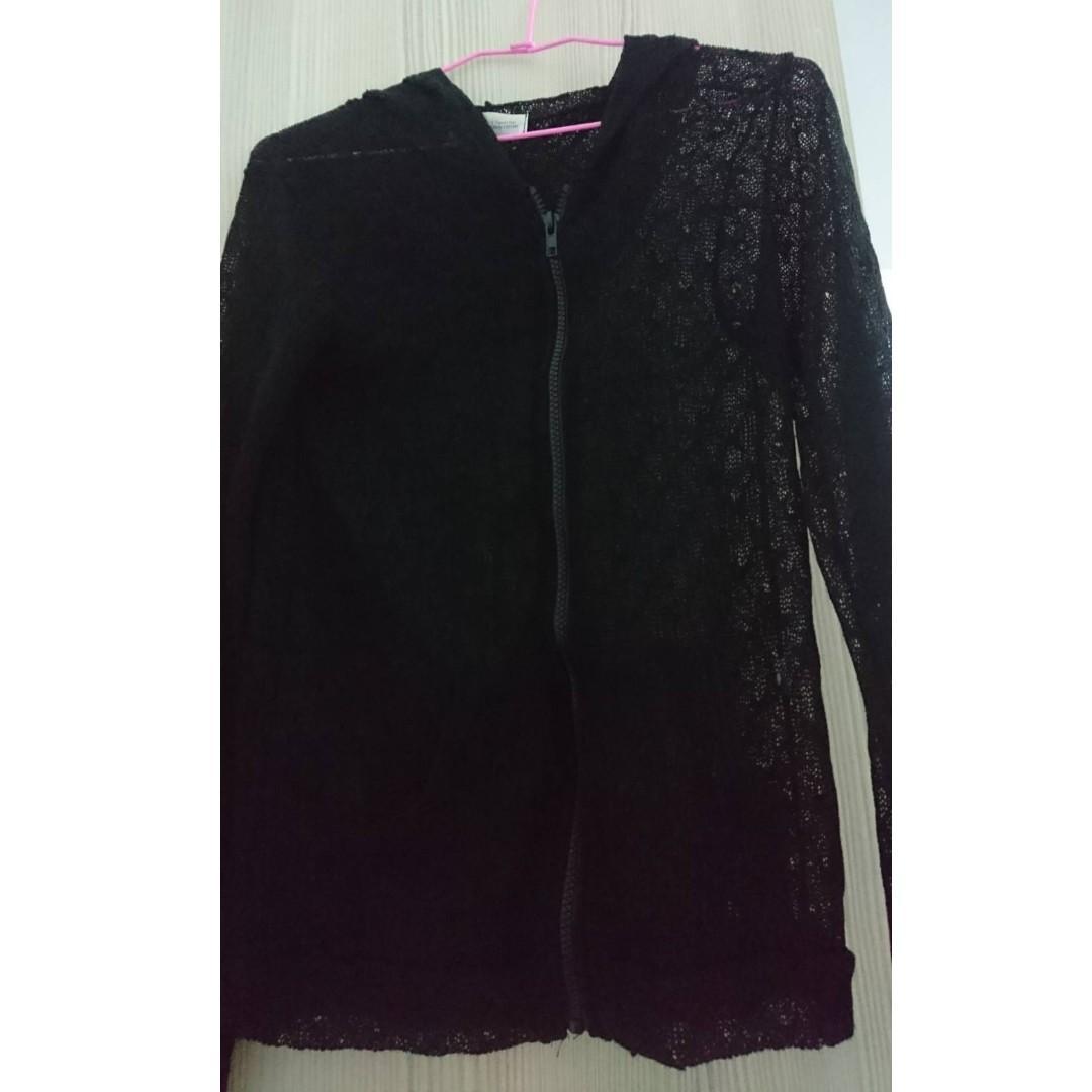 黑色蕾絲外套,全新