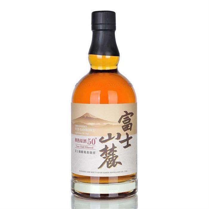 富士山麓 樽熟原酒50° 威士忌 - Kirin Whisky Fuji Sanroku 50° Whisky