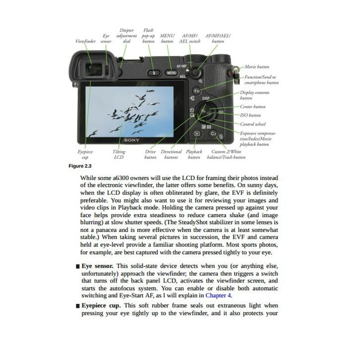 EBOOK ) Sony Alpha A6300/Ilce 6300 Guide Digital Photography, Books