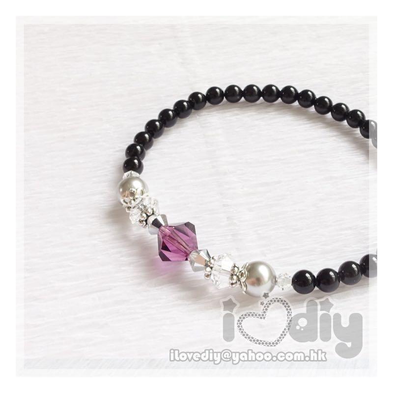 😍 iLovediy - Swarovski Bracelet水晶手鏈*