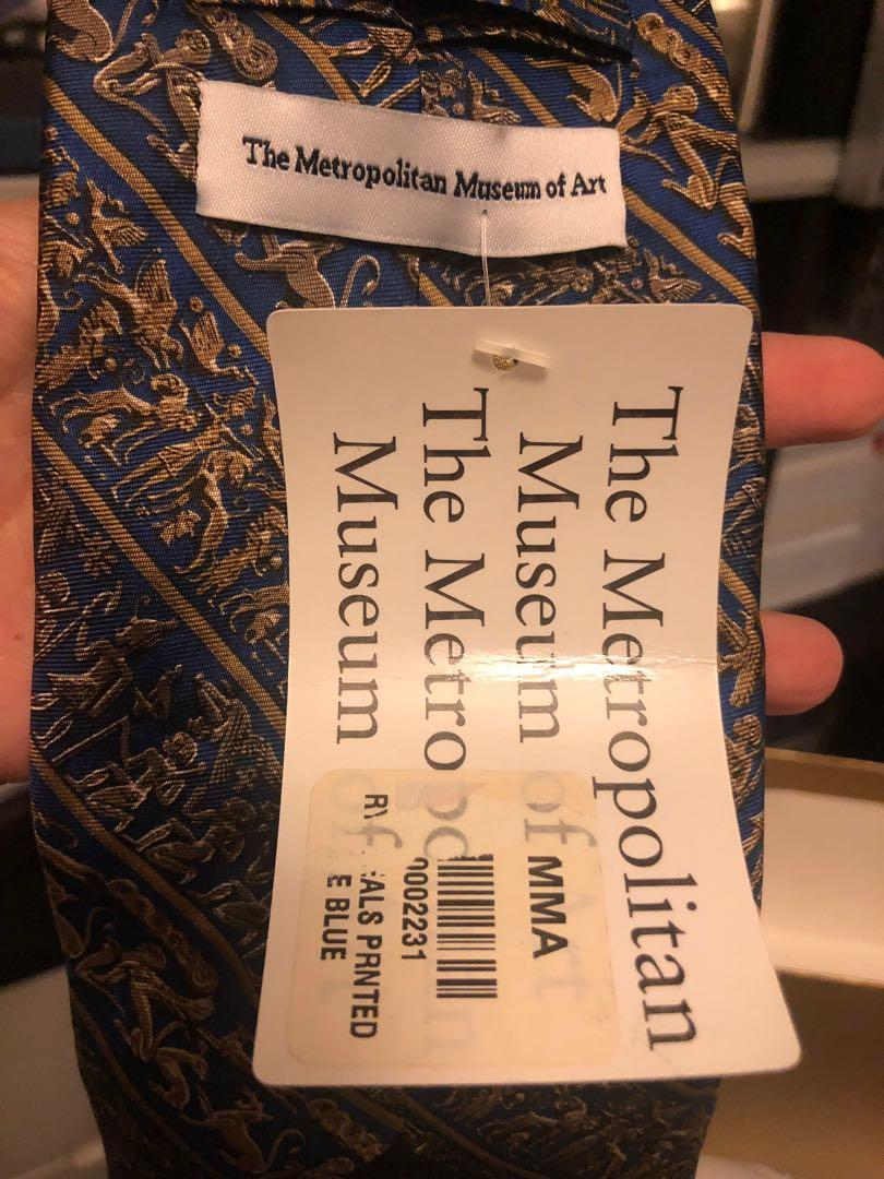 A tie from The Metropolitan Museum of Art