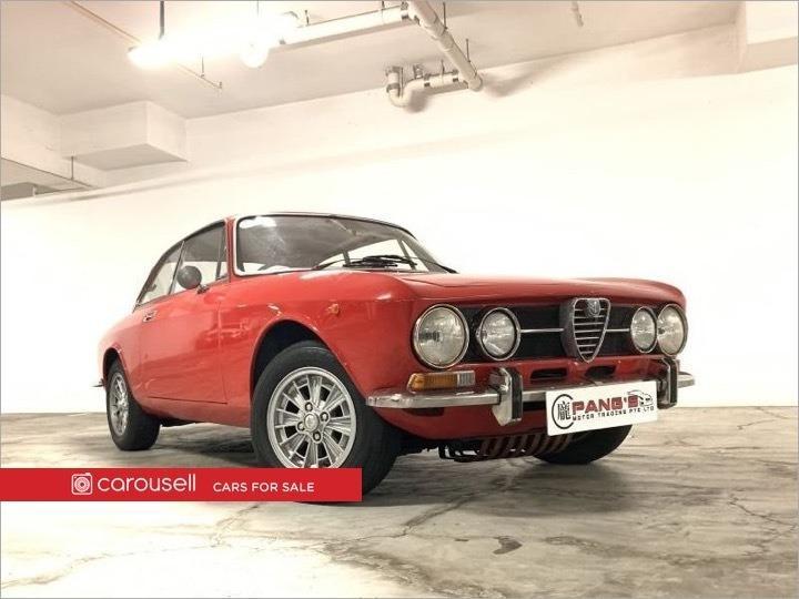 Alfa Romeo 1750 GT Veloce (COE till 03/2029)