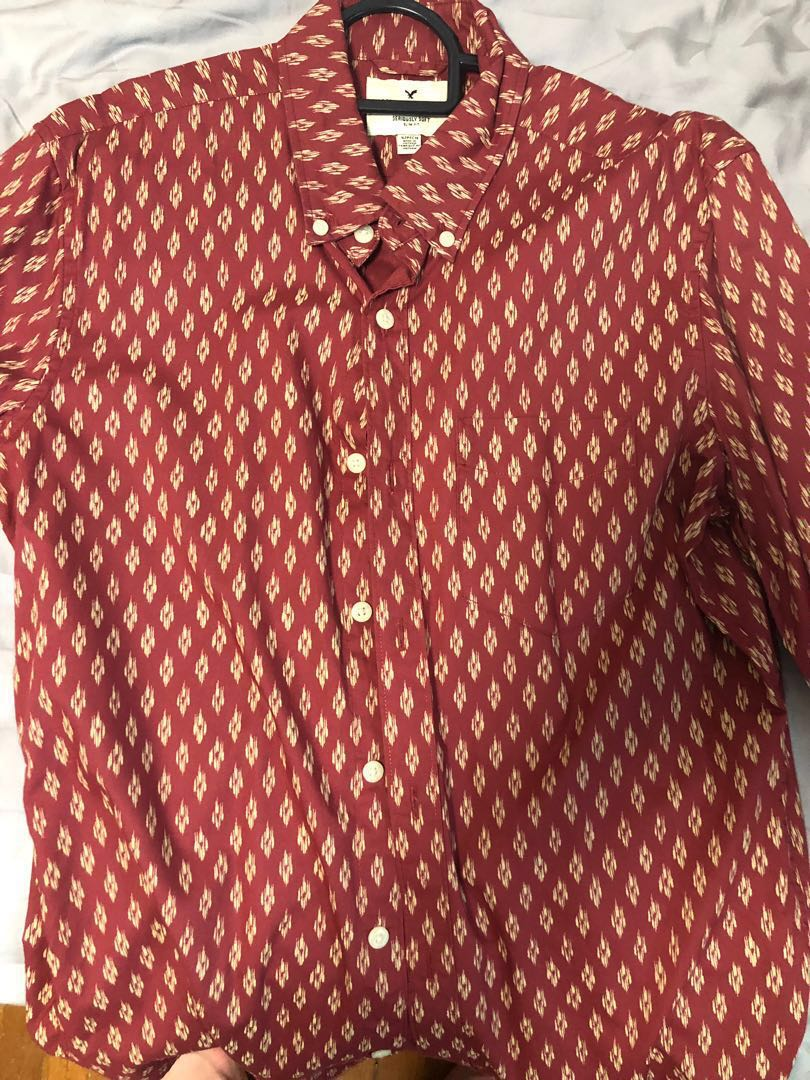 ffd7d64d American Eagle Shirt, Men's Fashion, Clothes, Tops on Carousell