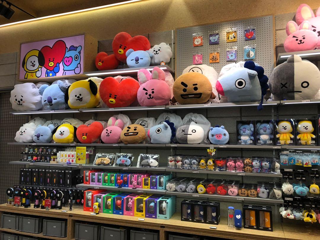 Anyone interested to buy original BT21 stuff ? These items from BT21 Line Friends store in Seoul