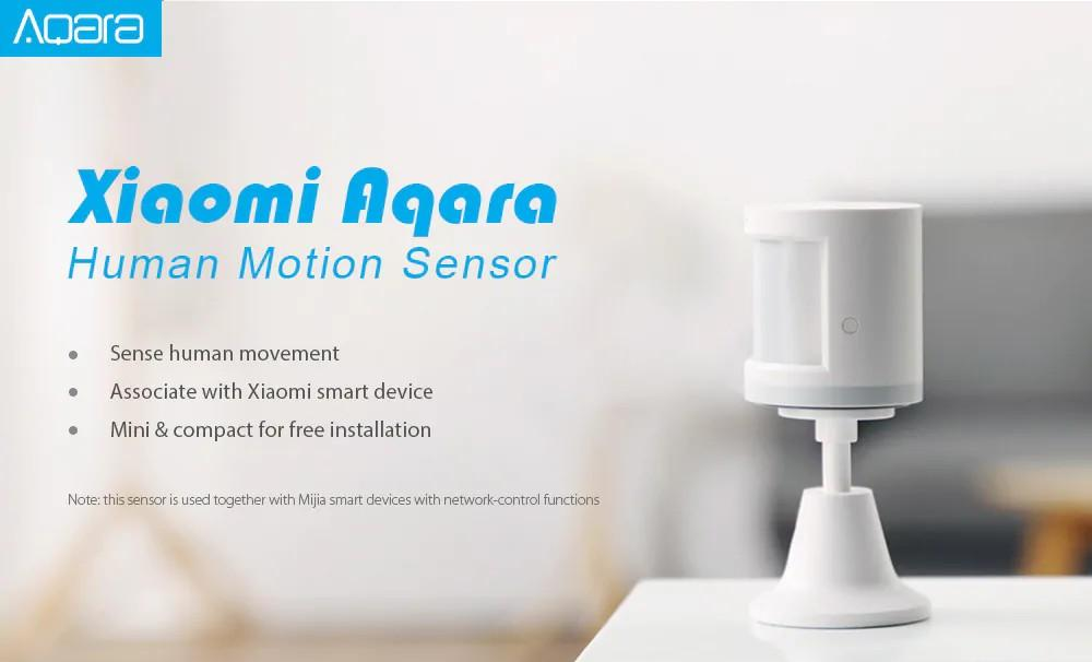Xiaomi RTCGQ11LM Smart Home Aqara Human Motion Sensor
