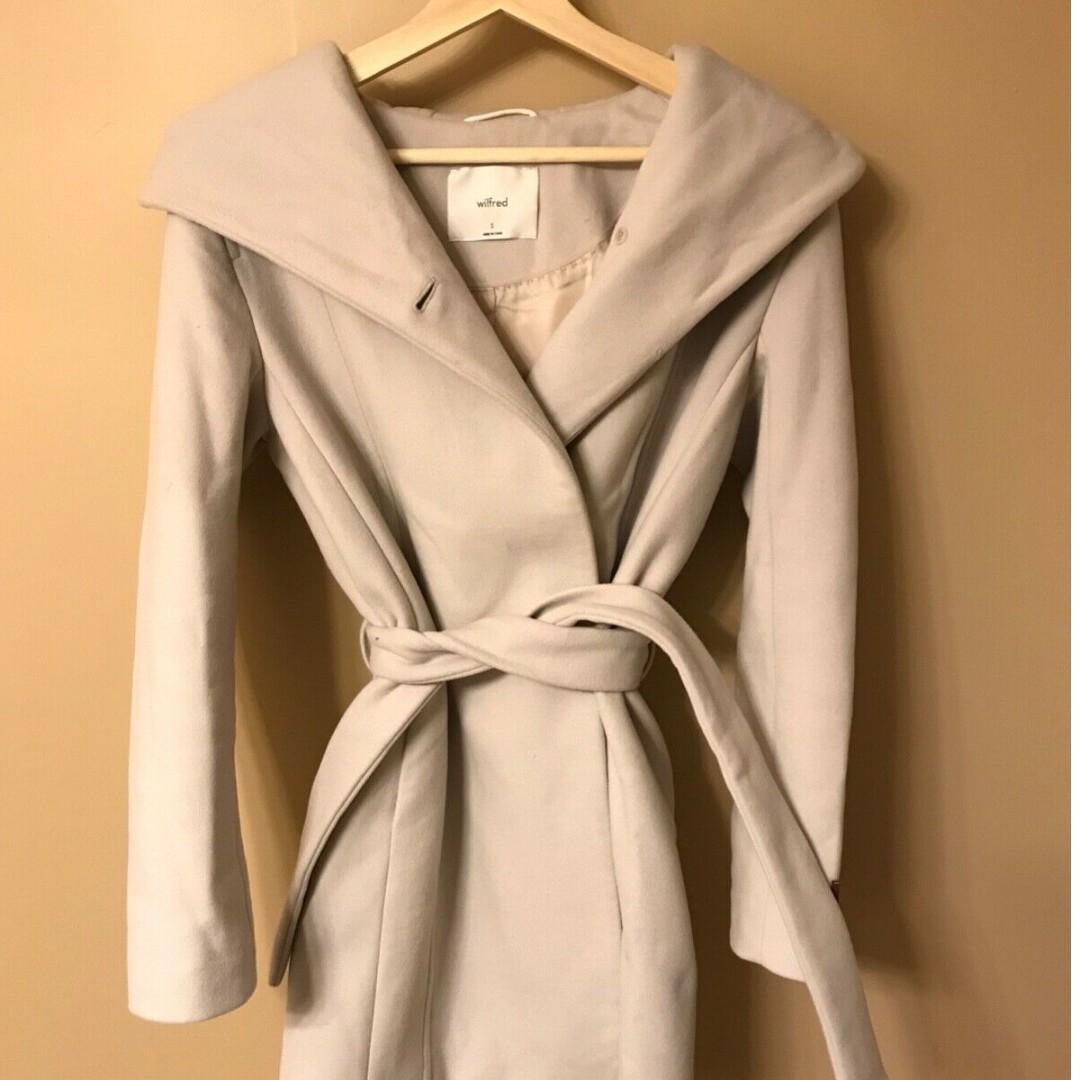 Aritzia - Brenna Wool Coat - Flirt - size S - retail $350