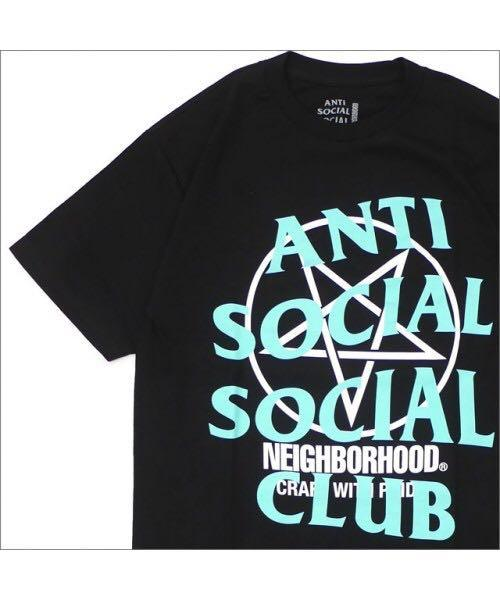 XL L Anti Social Social Club x Neighborhood 911 Tee sizes M