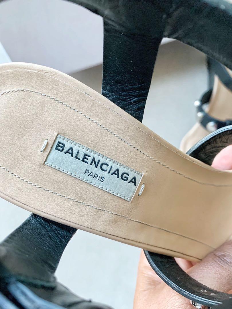 Authentic Balenciaga Studded Sandals
