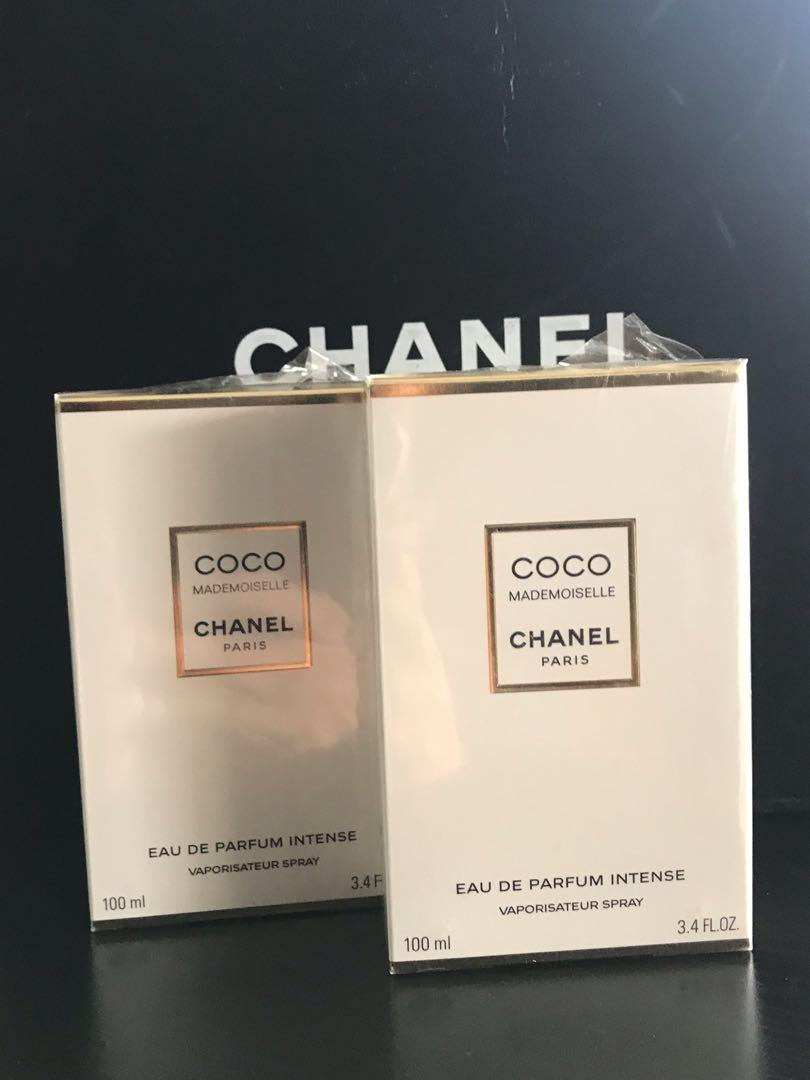 Authentic Chanel coco mademoiselle intense EDP 100ml RRP $254