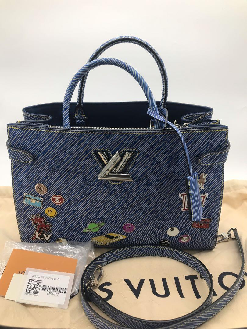 Authentic Louis Vuitton twist tote limited edition RRP $4600