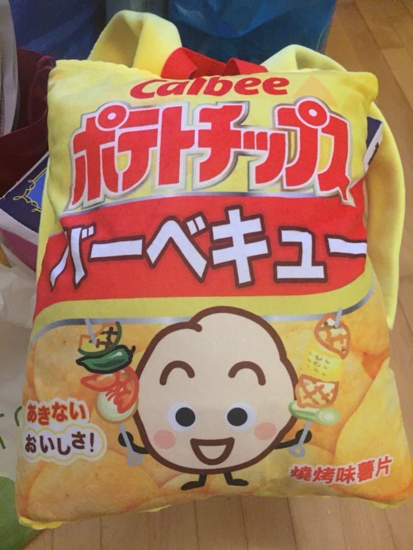 卡樂B燒烤味薯片背囊 backpack
