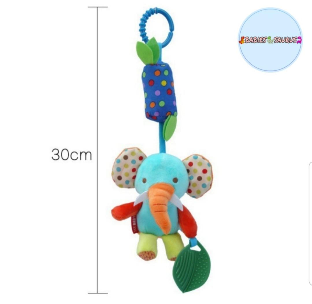 Baby rattle-bell toy