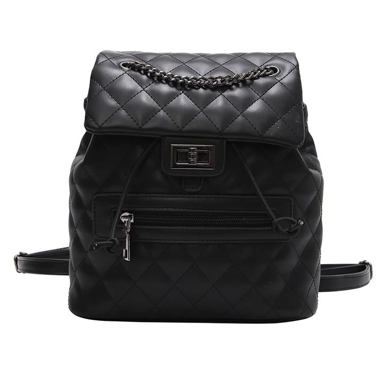 Bag female chain hand bag shoulder bag Korean rhombic versatile Messenger bag