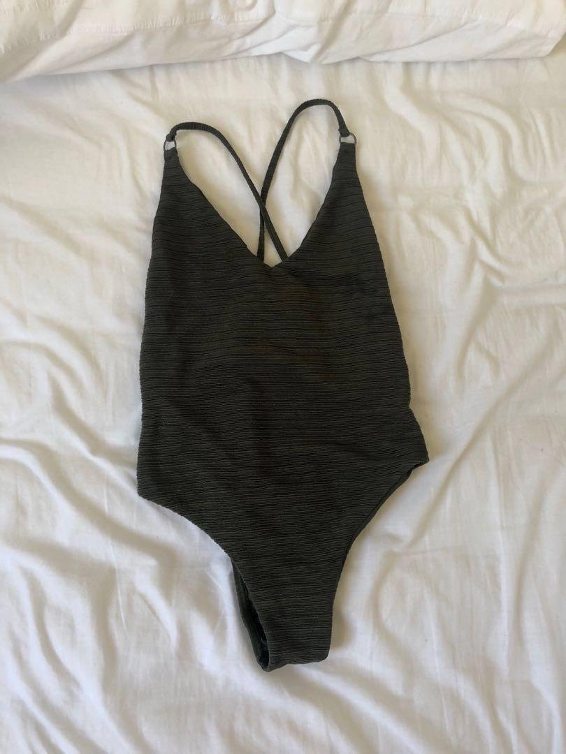 BILLABONG CRISSCROSS OPEN BACK ONE PIECE