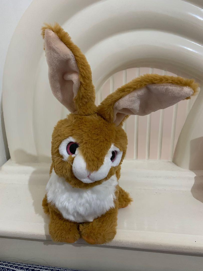 Boneka Kelinci Bulu . Rabbit .