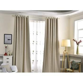 BRAND NEW 150x250cm Blackout Curtains - Beige (2)