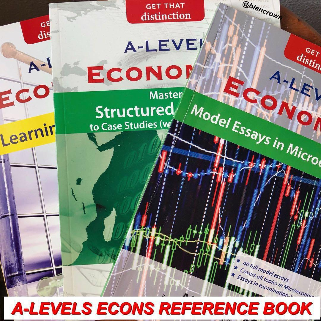 BRAND NEW A-Levels Economics Reference book