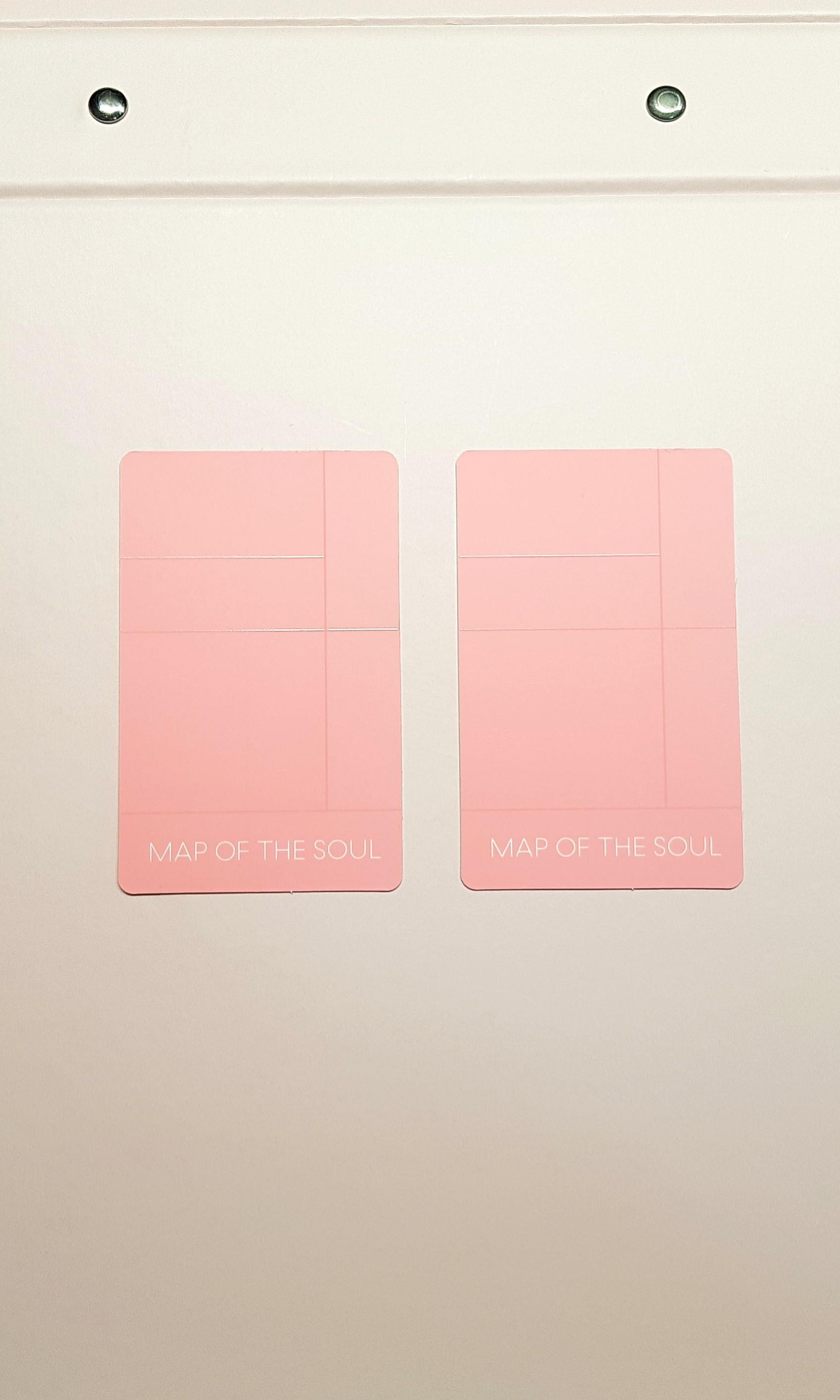 BTS MAP OF THE SOUL: PERSONA Photocard [J hope VER.2]