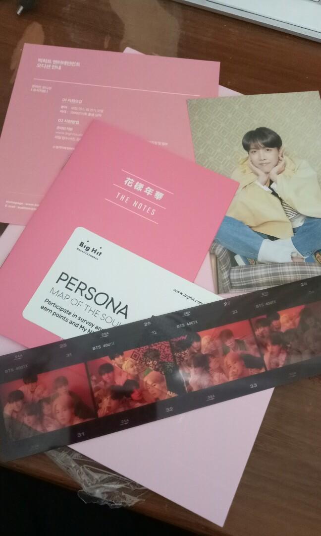 BTS PERSONA ALBUM VERSION 1 (NO PC)