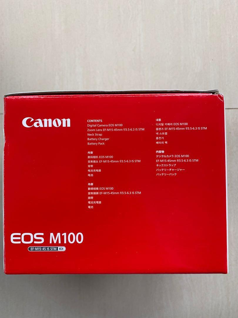 Canon EOS M100 BNIB Garansi Resmi