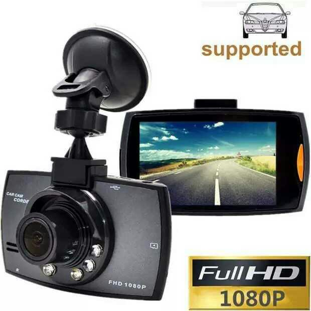 "Car Recorder G30 2.7"" 140 Degree Wide Angle Full HD 1080P Car DVR Camera"