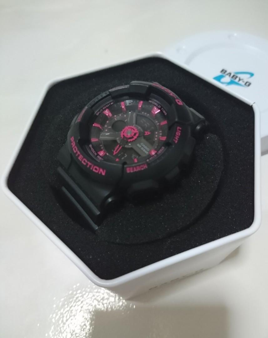 Casio Baby G Black - Red Model BA 110 (Authentic)
