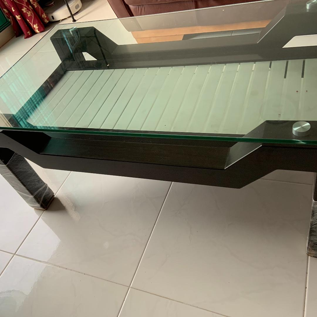 Coffee table and TV console for sale