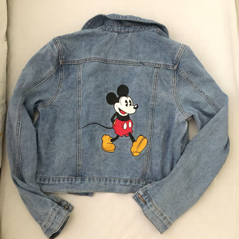 Cotton On Disneyland Denim Jacket #junepayday60