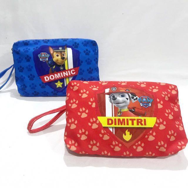 Custom Baby Diaper Bag Paw Patrol