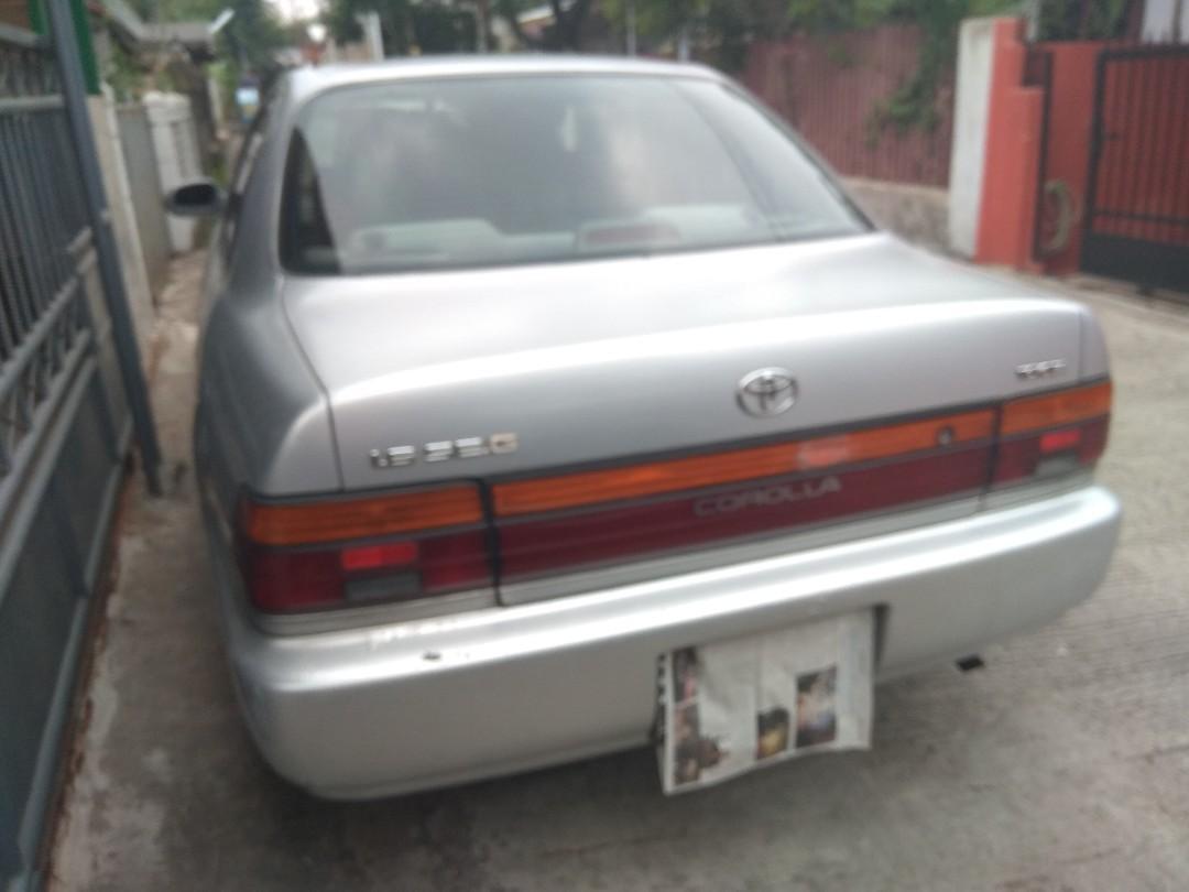 Dijual cepat Toyota great corolla SEG silver tahun 1992
