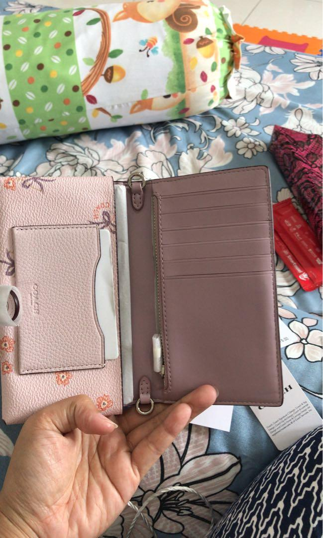 Dompet Coach 100% authentic