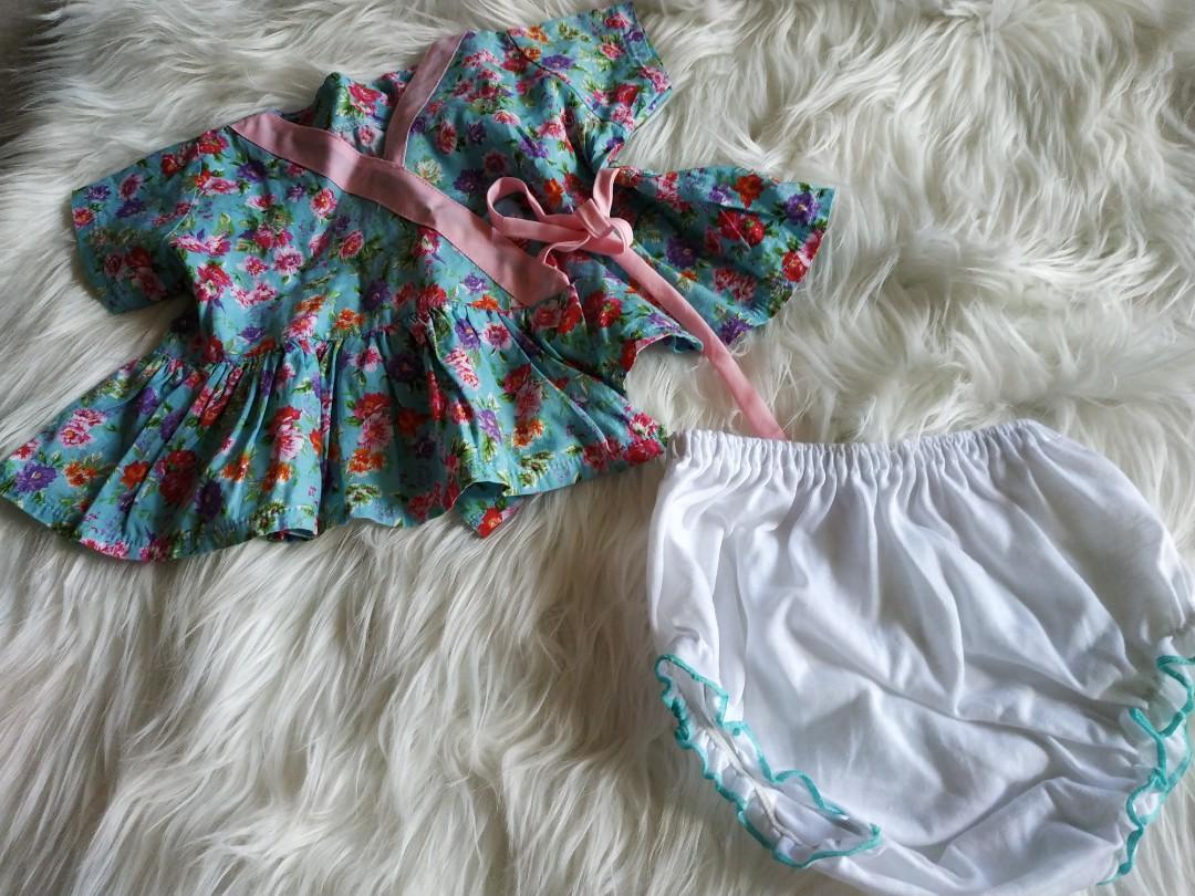 Dress bayi kimono size 3-6m