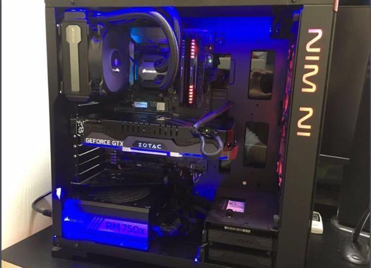Gaming PC 頂級電競電腦 i7-7700k GTX 1080ti 16GB3000Mhz ram