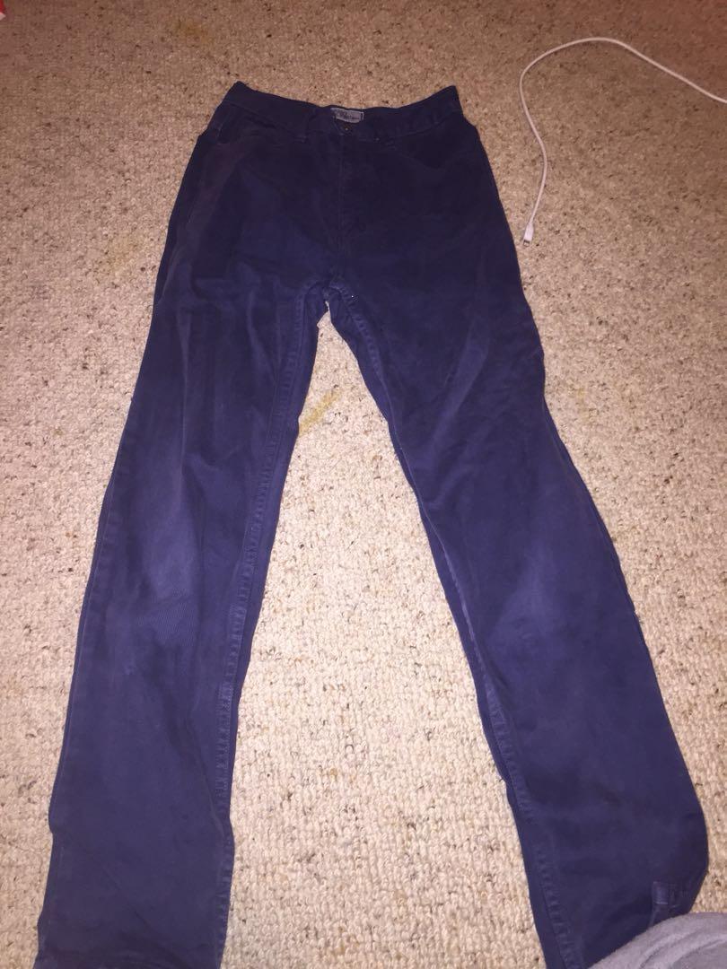 Guess jeans vintage coudoury navy mom boyfriend jean