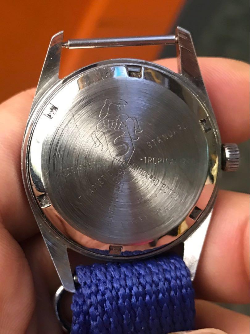 古董Henri sandoz上鍊手錶