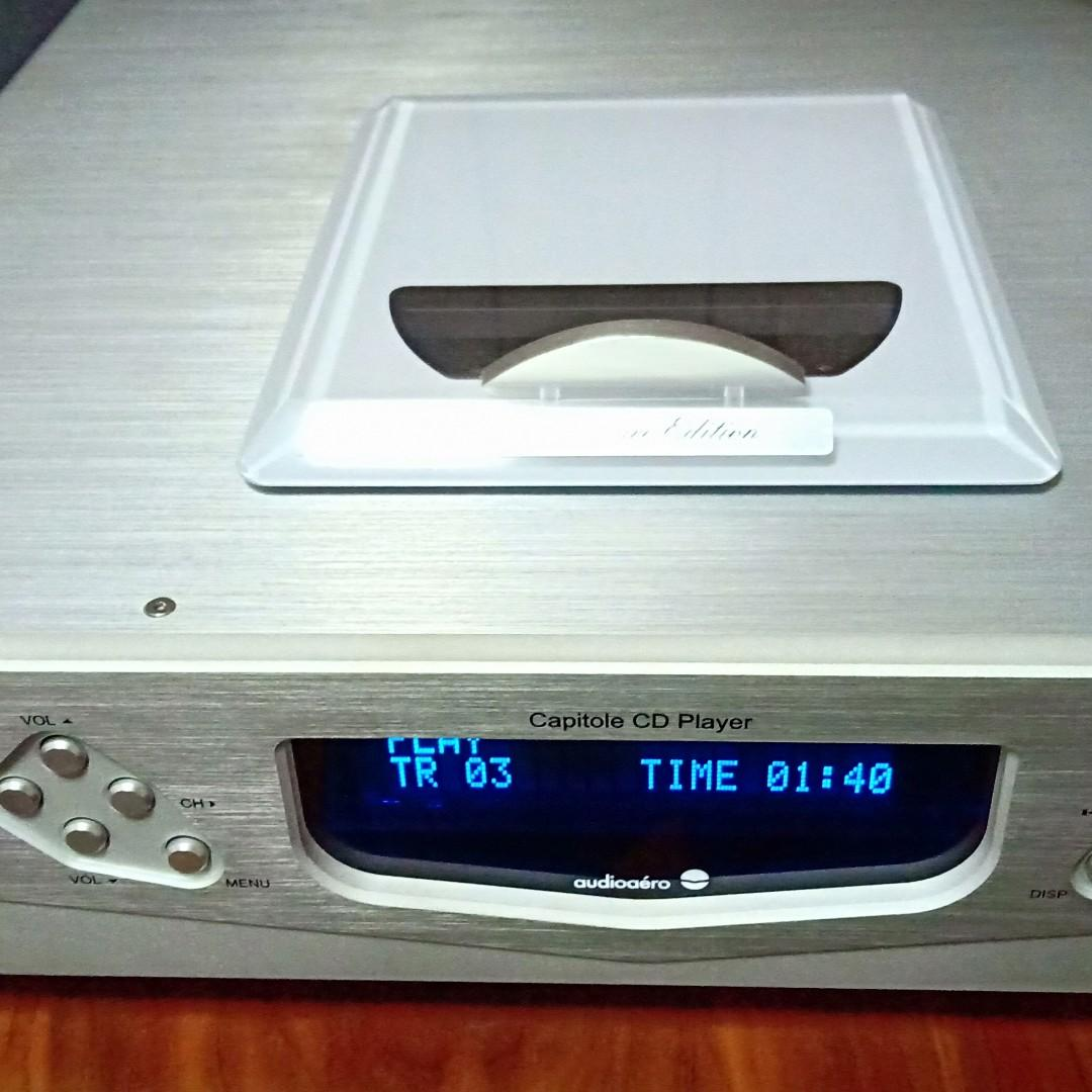 High-end tube CD player.